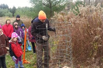 Tree Planting at EcoVillage