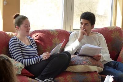 SUNY Potsdam students. Photo: Jim Bosjolie