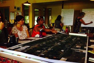 TRIP design charette at EVI