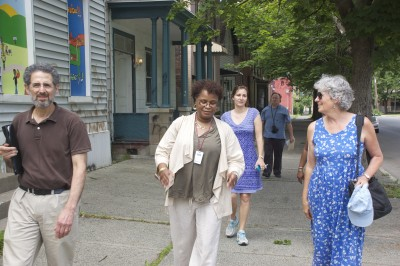 CTW partners visit TRIP project in Troy NY